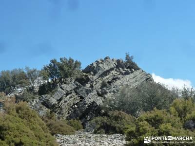 Pico Rocigalgo - Cascada del Chorro [Parque Nacional de Cabañeros] puerto de navacerrada bola del